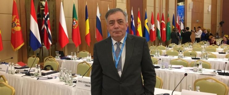 PHRC representatives take part at WHO European High-level Conference in Turkmenistan