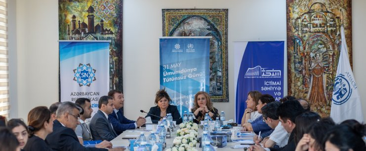"Roundtable on ""Make every day No-Tobacco Day"" held with participation of art figures and mass media representatives"